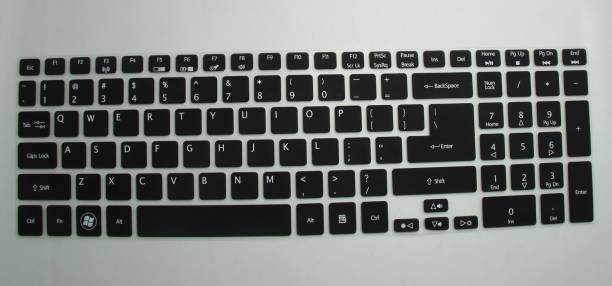 Saco SiliconeChiclet ProtectorCoverFitforACER ASPIRE ES1-531-c5yn Laptop Keyboard Skin
