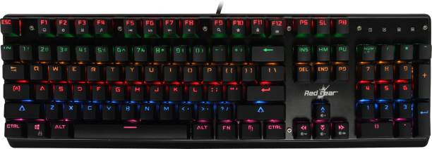 3f642c9404f Redgear MK881 Invador professional mechanical keyboard with Kailh blue  switches, Lighting effect and windows key