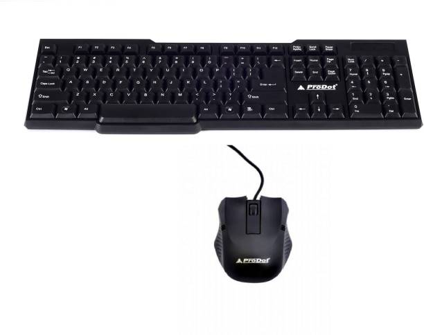 PRODOT KB207 Wired USB Multi-device Keyboard