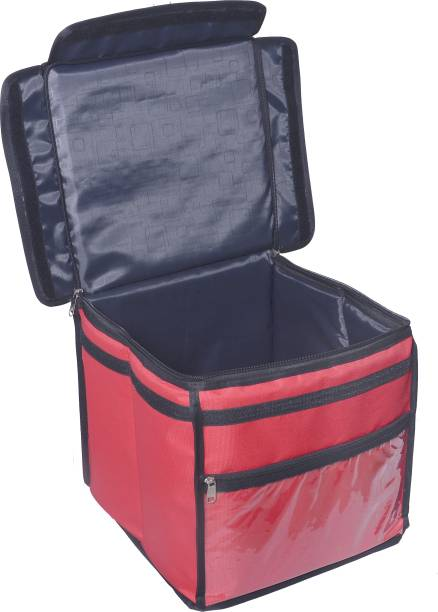 Quaffor Very Popular Demanding Food Delivery Bag Delivery Bag Grocery Delivery Bag Carry on bike (Red)16*16*16 42 L Backpack