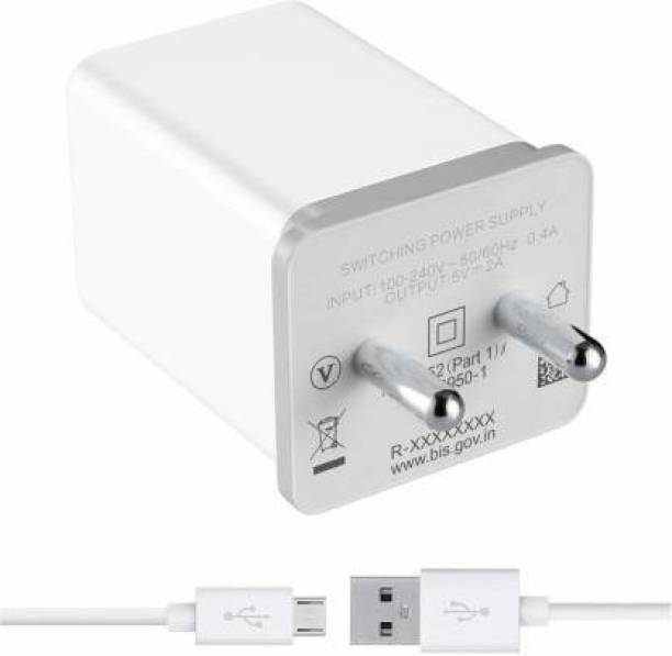 Tdoc Wall Charger Accessory Combo for Realme 1, Realme 2, Realme 2pro, Realme 3, Realme 3 Pro, Realme 3i, Realme C1, Realme C1, Realme C2, Realme U1, Realme X Lite