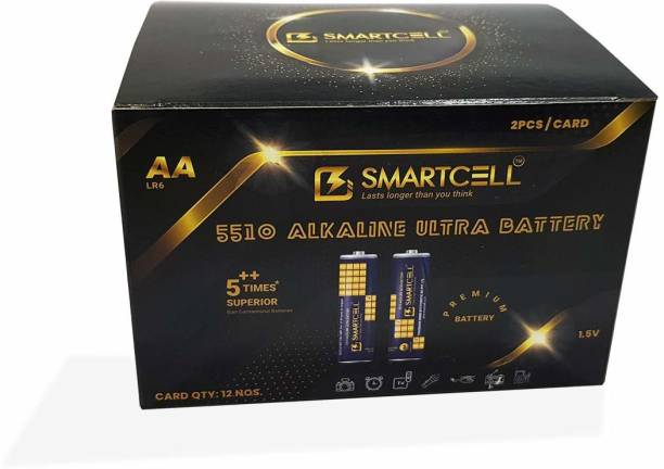 Smartcell 1.5V AA Non-Rechargeable Alkaline Premium Series Mini Gift Box  Battery
