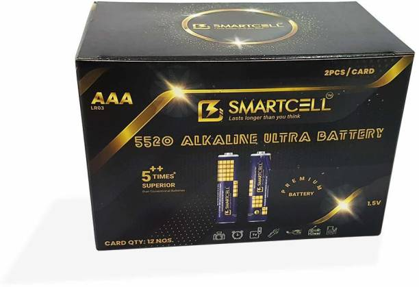 Smartcell 1.5V AAA Non-Rechargeable Premium Series Mini Gift Box  Battery