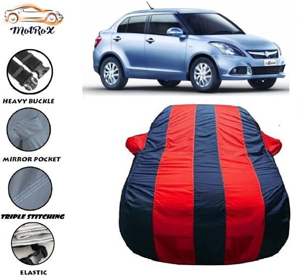 MoTRoX Car Cover For Maruti Suzuki Swift Dzire (With Mirror Pockets)