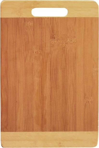 Flipkart SmartBuy Kitchen Chopping Cutting Board with Handle Wooden Cutting Board