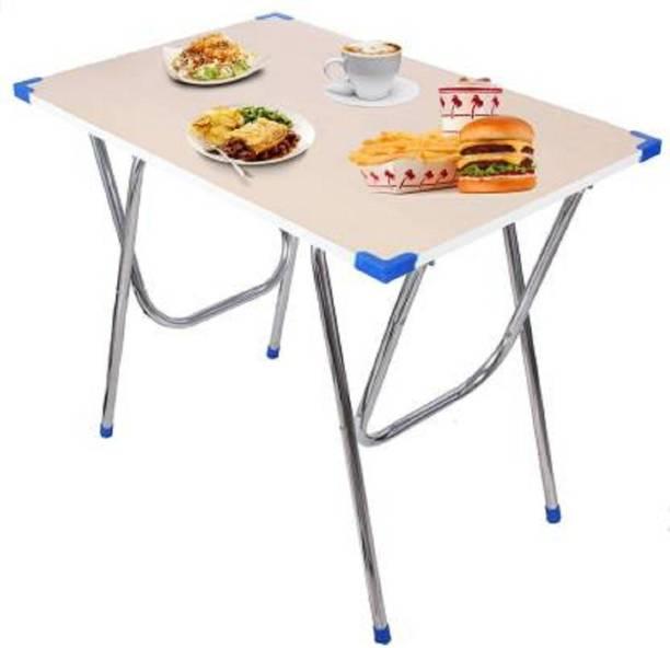 AquaLeo Engineered Wood 2 Seater Dining Table