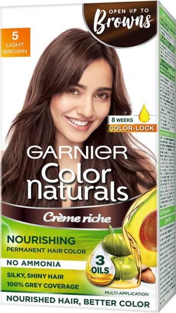 GARNIER Color Naturals Creme , Shade 5, Light Brown