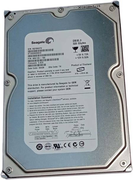 Seagate OEM 320 GB Desktop Internal Hard Disk Drive (ST3320SCEP)