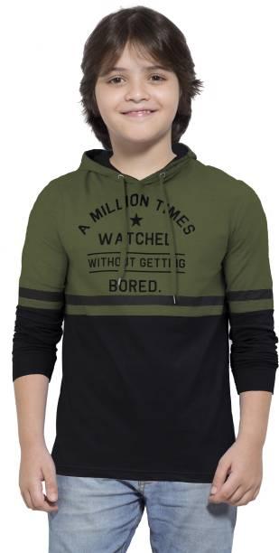 MANIAC Boys Printed Pure Cotton T Shirt