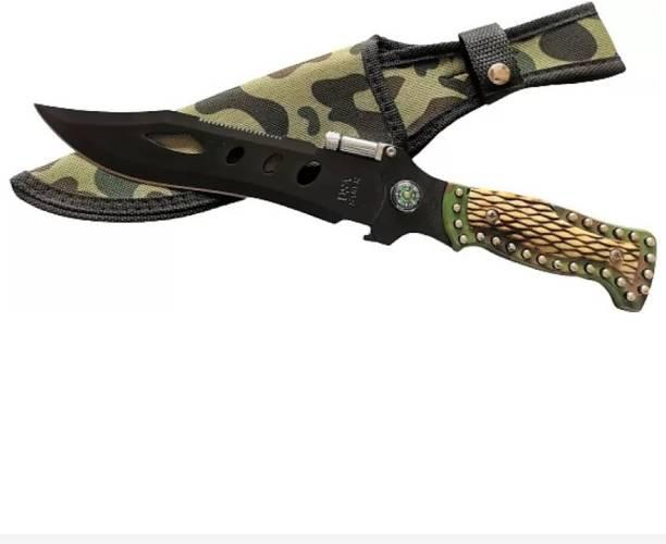 New Mehta enterprise Bleck 002 Knife, Campers Knife, Throwing Knife