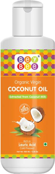 BeyBee Cold Pressed Coconut Oil For Baby massage - Extra Virgin organic Hair Oil