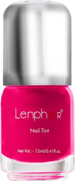 Lenphor Nail Tint Princess Pink 07, Pink, 12 ml Princess Pink