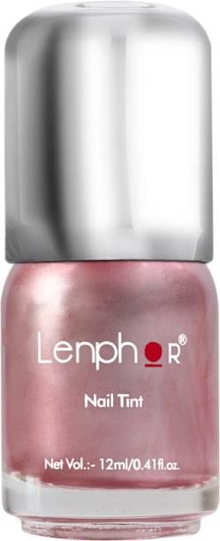 lenphor Nail Tint Pink Metal 15, Pink, 12 ml Pink Metal