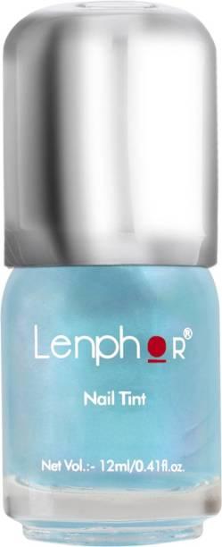 lenphor Nail Tint Blue Pebbles 03, Blue, 12 ml Blue Pebbles