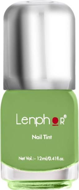 lenphor Nail Tint Finish Lime 54, Green, 12 ml Finish Lime