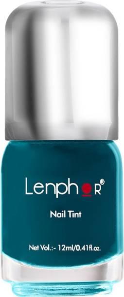 lenphor Nail Tint Cerulean 48, Green, 12 ml Cerulean