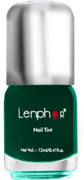 lenphor Nail Tint Jade Nature 58, Green, 12 ml Jade Nature