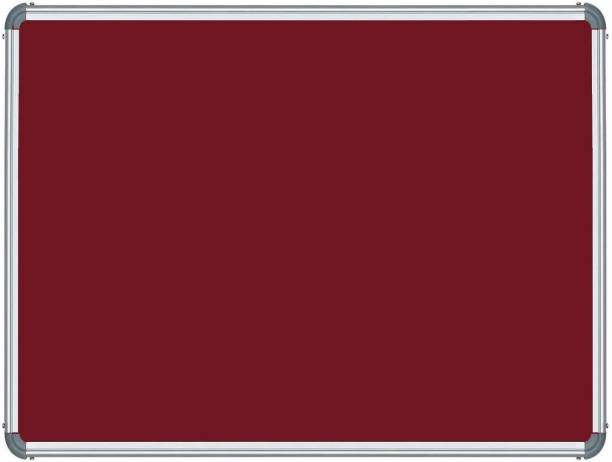 eduway Maroon Pin Up Board Notice Board