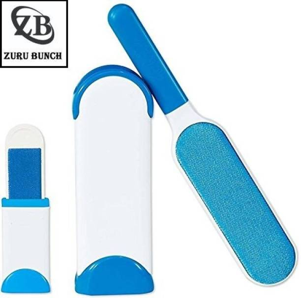 ZURU BUNCH Reusable Washable Pet Fur & Lint Remover Brush Dog Cat Hair Remover Brush from Clothing and Sofa Cleaning Brush Basic Comb for  Dog