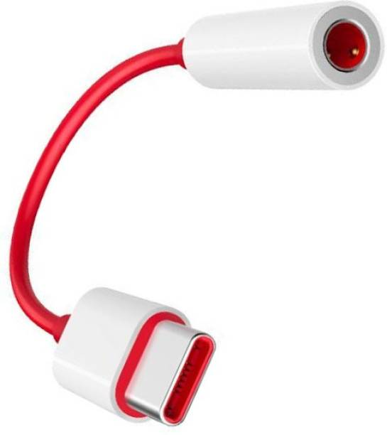 YODNSO Red ,White USB-C To 3.5MM Earphone Jack Adapter AUX Audio Convertor Phone Converter