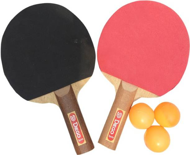 diego Trainer Table Tennis Red, Black Table Tennis Racquet