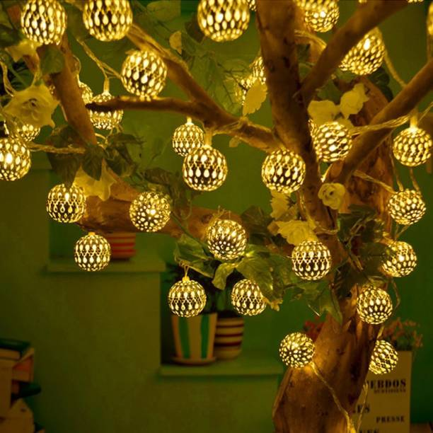A one creations 200 inch Gold Rice Lights