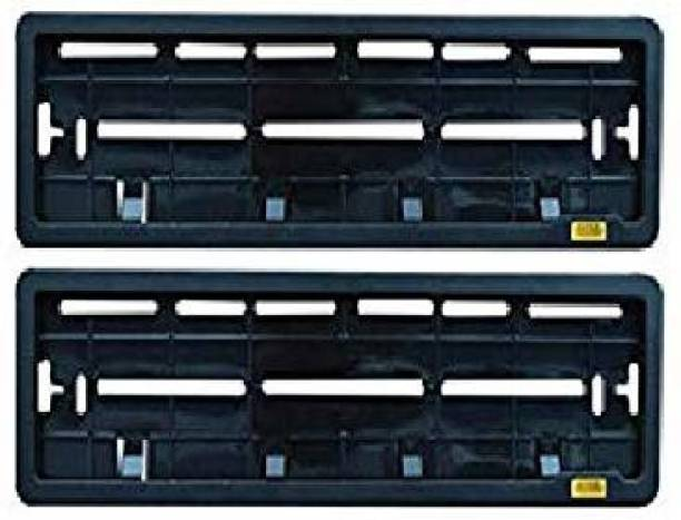 Auto Oprema High Securiity Registration Car Number Plate Frame (Front & Rear) Car Number Plate Car Number Plate