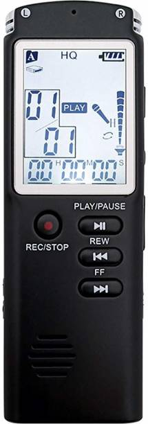 RFV1 (tm)Digital Voice Activated Recorder with Playback for Lectures, Meetings, Interviews, USB Charge, MP3 8 GB Voice Recorder