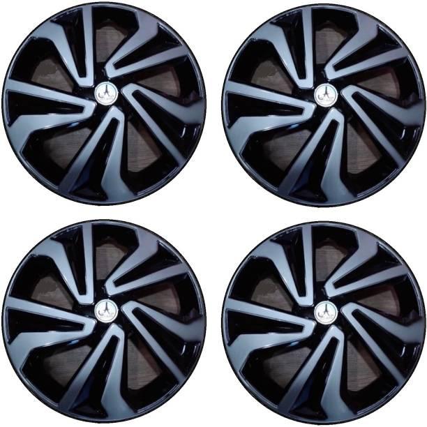 Auto Spare World BLACK AND SILVER 12 INCH Wheel Cover For Maruti Alto