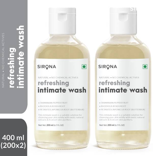 Sirona Natural pH balanced Intimate Wash Intimate Wash