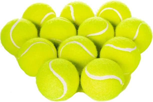 SBM Tennis Cricket Ball (Pack Of 12) Cricket Tennis Ball