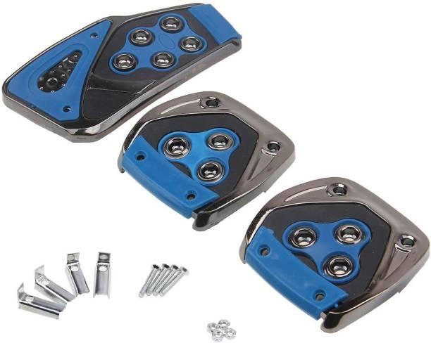 Auto Mac Universal Blue 3 Pcs Generic Non-Slip Racing Sport Manual Car Truck Pedals kit Pad Covers 4133 Car Pedal