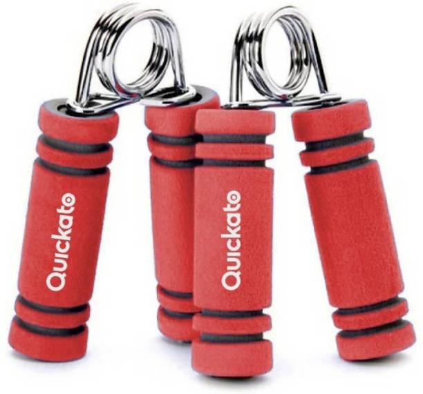 Quickato Fitness Hand Grip, Hand Strengthener, Spring Hand Gripper Hand Grip/Fitness Grip