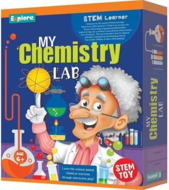 HORUX explore.. | STEM Learner | My Chemistry Lab (Multicolor)