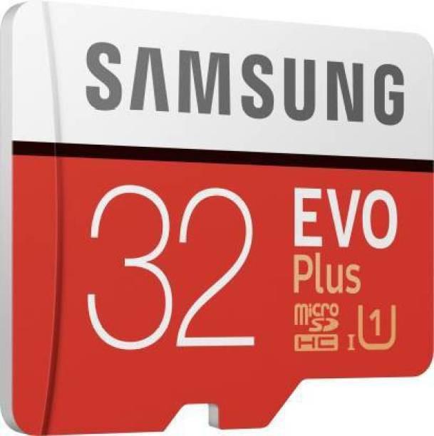 SAMSUNG EVO Plus 32 GB MicroSDXC Class 10 100 MB/s  Memory Card
