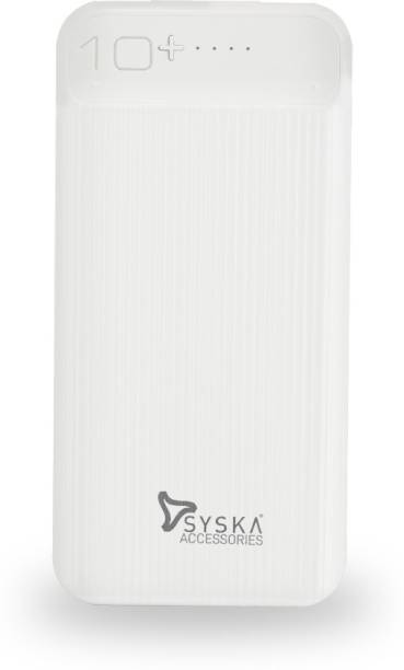 Syska 10000 mAh Power Bank (10 W, Fast Charging)