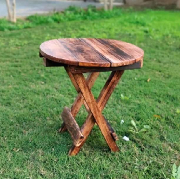 IQ HANDICRAFTS Solid Wood Bedside Table