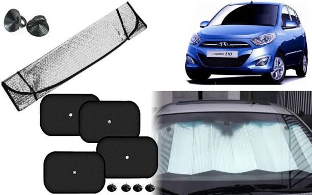 Auto Kite Dashboard, Rear Window, Side Window Sun Shade For Hyundai i10