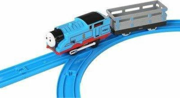 sarathi fashion Train Toys for Kids with Track (Batter Operated)