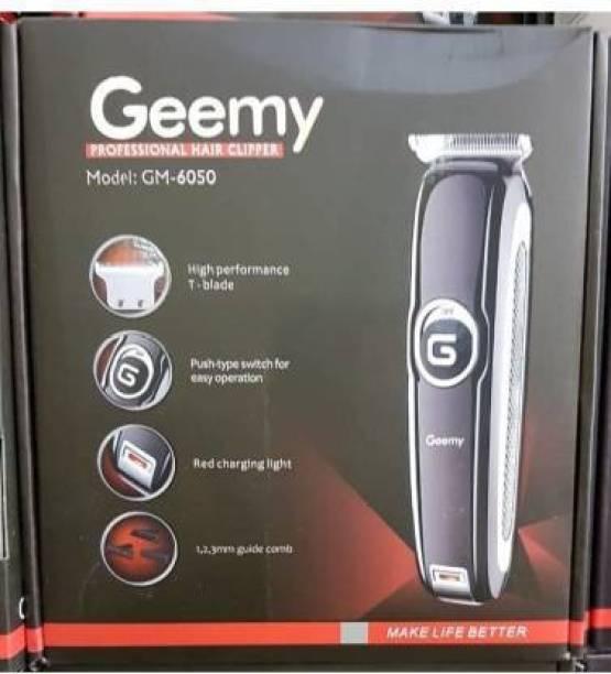 Geemy GM-6050  Runtime: 120 min Trimmer for Men & Women