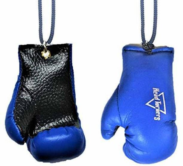 HeadTurners Car Hanging Interior Decor Accessory- Boxing Gloves- (Pack of 2, Assorted Colours) Car Hanging Ornament