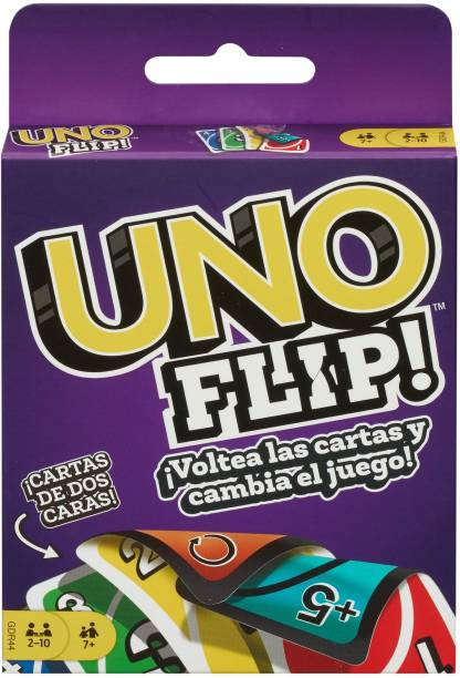 Games Uno Flip Side Card Game