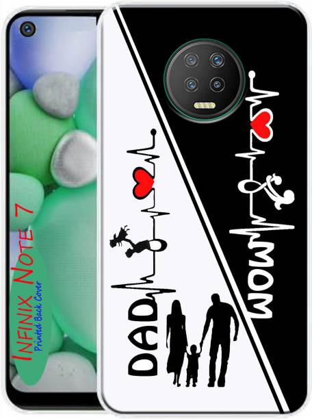 MORITZ Back Cover for Infinix Note 7