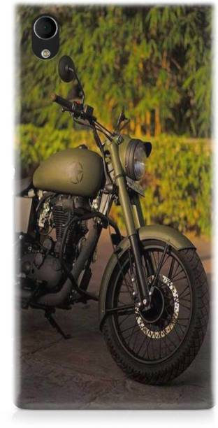 Accezory Back Cover for Vivo Y91i, BIKE, ROYAL ENFIELD, mom dad