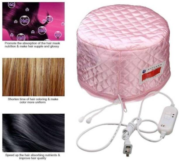 SHESH Head Spa Cap for Deep Conditioning and Oil Heats and Treatments Hair Steamer ,Hair Beauty Nourishing Steamer Thermal Treatment Head Cap For Hair Spa for Salon and Parlor Use Hair Steamer Hair Steamer Hair Steamer