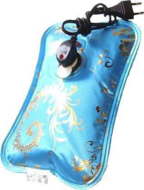 Flying monk Electrothermal Hot Water Bag, Electric Heating Gel Pad-Heat Pouch Hot Water Bottle Bag electrical 1 L Hot Water Bag