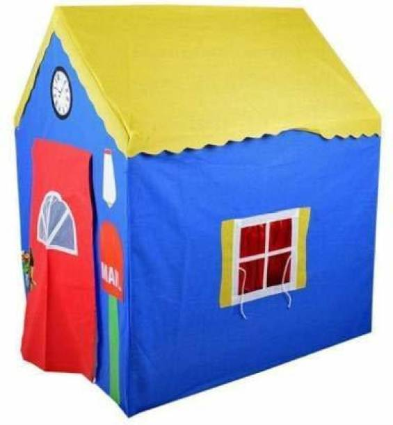 AVYUKT Jumbo Size Extremely Light Weight , Water Proof Kids Play Tent House for 10 Year Old Girls and Boys (My Home Tent House)