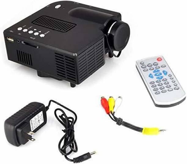 BabyTiger HD Mini LED Projector Home Theater Cinema HDMI/AV/VGA/USB/SD Portable Portable Projector