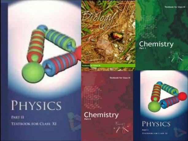 NCERT Physics, Chemistry,Biology (PCB) Books Set For Class 11 (English Medium)