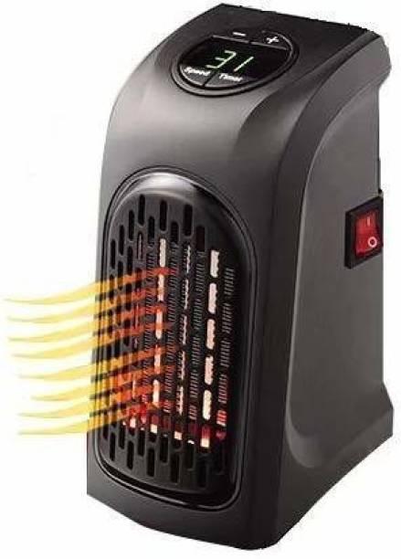 Woniry RH-01 400W Mini Electric Portable Handy Air Room Fan Heater (Black) Fan Room Heater
